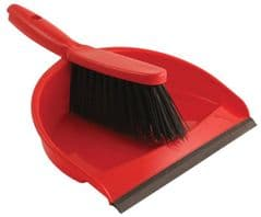 BENTLEY VZ.8011/R  Dustpan And Brush Set, Red